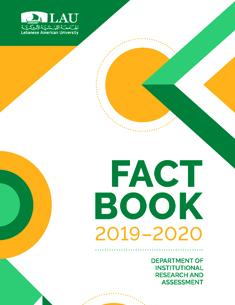 LAU Fact Book 2019-2020 Photo